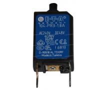Composant électrique Coupe circuit DISJONCTEUR REARMABLE 1.8A