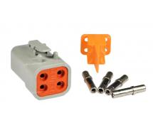 Composant électrique Connecteur DEUTSCH Kit 4 VOIES DTP06-4S
