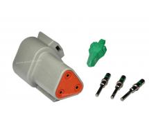Composant électrique Connecteur DEUTSCH Kit 3 VOIES DT04-3P