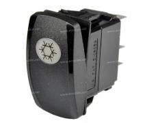 Composant électrique Interrupteur Carling Technologies AIR CONDITIONNE 24V