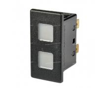 Composant électrique Interrupteur Carling Technologies Voyants Contura