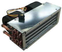 Exchanger HEGOA heating system Nu HEGOA 3 - Sortie à gauche -12V