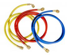 Outillage et consommable Flexible de charge 4m BLEU R12 1/4-1/4