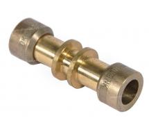 Raccord De réparation de ligne rigide Raccord DROIT LAITON 8 mm