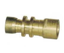 Raccord De réparation de ligne rigide Réducteur LAITON 9.53 mm / 8 mm