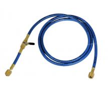 Outillage et consommable Flexible de charge 1.80m 1/4-1/4 + VANNE