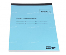 Outillage et consommable Accessoire Consommable CAHIER D'INTERVENTION CAT 5