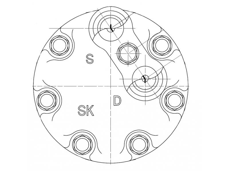 Compresseur Sanden Fixe R134a SD7H15 TYPE : SD7H15 | 6453P9 - 9614674380 | 1.1038 - 1201818 - 58598 - 699020 - 7402096 - 7854 - C8807294A - CP178598 - TSP0155041