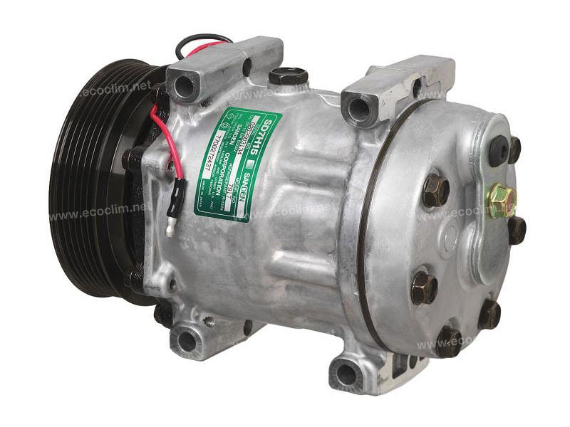 Compressor Sanden Fix R134a SD7H15 TYPE : SD7H15