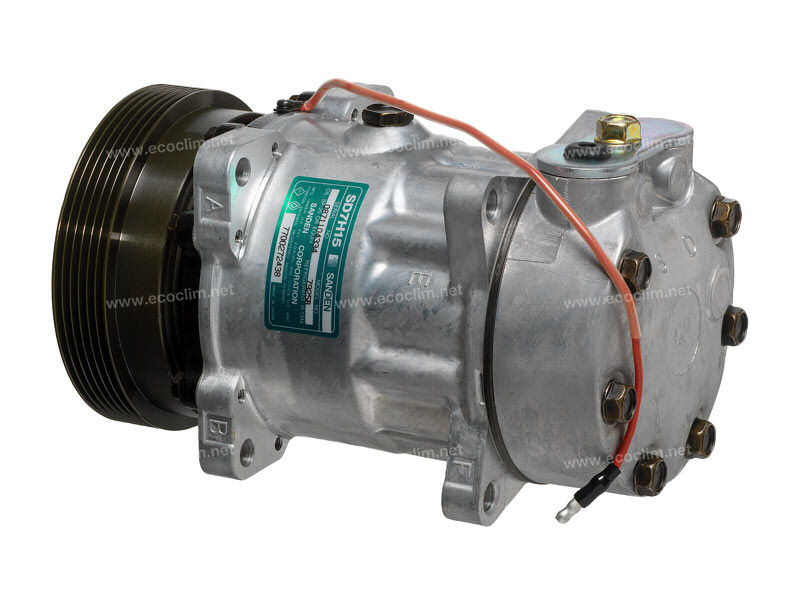 Compresseur Sanden Fixe R134a SD7H15 TYPE : SD7H15   7700272438   1.1134 - 58538 - 699044 - 7402103 - 7925 - RTK436