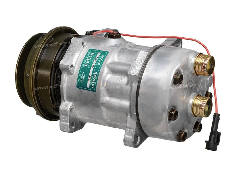 Compresseur Sanden Fixe R134a SD7H15 TYPE : SD7H15   7761693 - 98453640   1.1067F - 1201802 - 675102 - 699101 - 7805 - 7811 - C8807259A - TSP0155035