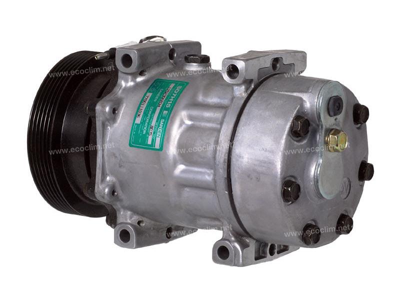 Compresseur Sanden Fixe R134a SD7H15 TYPE : SD7H15 | 7700111036 | 1201641 - 675132 - 699092 - 8075 - C8807358A - CP18015