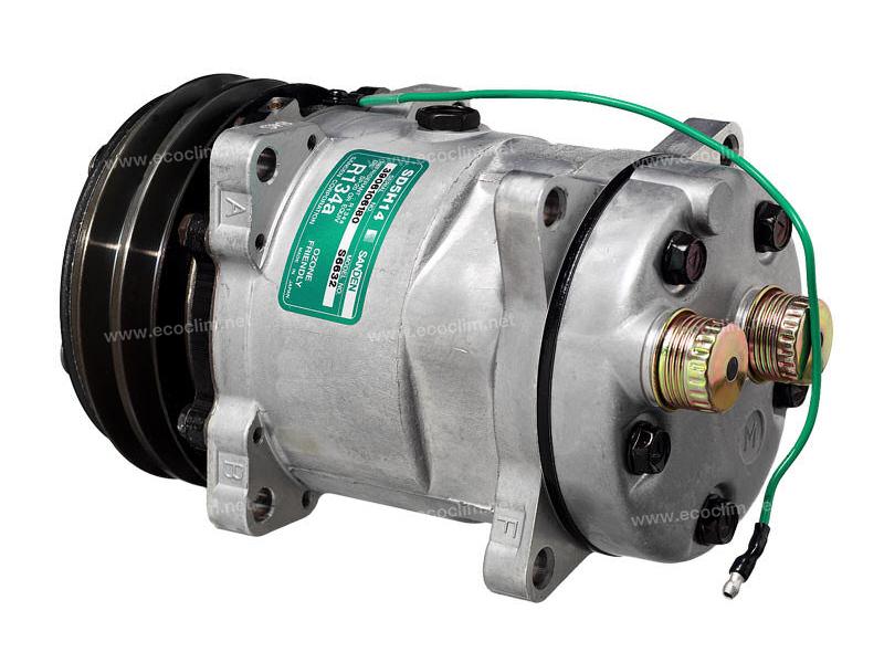 Compresseur Sanden Fixe R134a SD5H14 TYPE : SD5H14 | 016224378 - 4130-01-622-4378 - 4130016224378 | 1201567 - 4521 - 5800052 - 6632