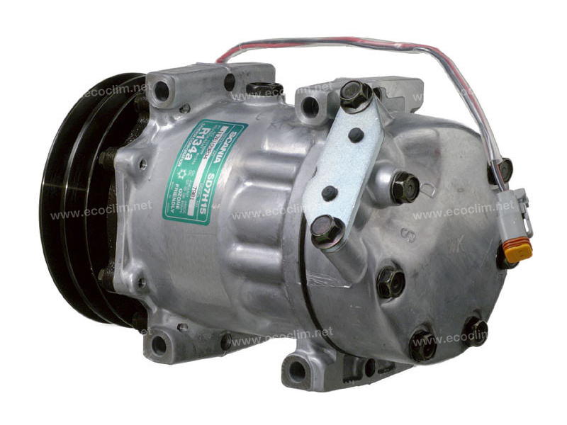 Compresseur Sanden Fixe R134a SD7H15 TYPE : SD7H15 | 1376999 | 40405090 - 7848 - 7981 - 8068 - C8807364A