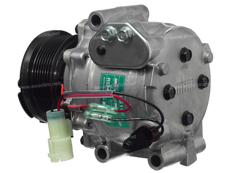Compresseur Sanden Fixe R134a TR... TYPE : TRS105 | ERR4534 | 3204 - 58727 - C.88.07.4.66.A - CP19007