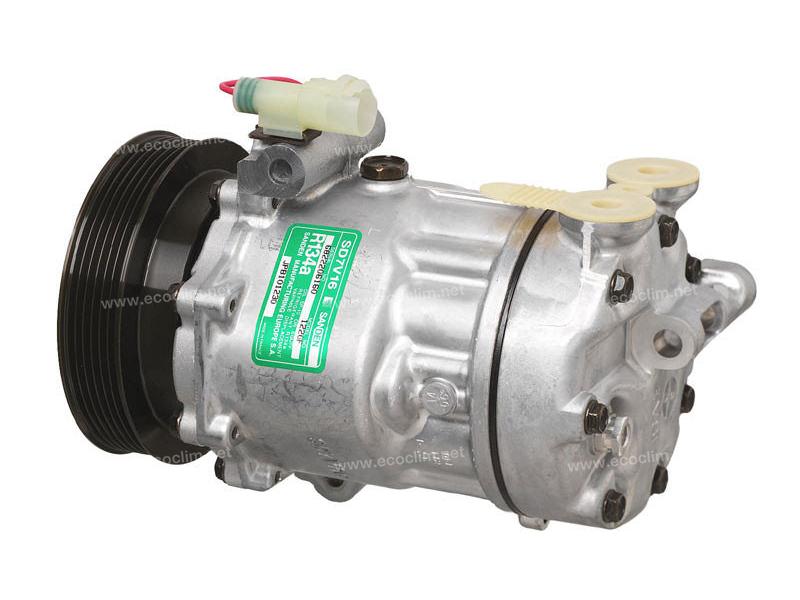 Compresseur Sanden Variable SD7V16 TYPE : SD7V16 | JPB101230 | 1201452 - 1220 - 32173 - 699315 - 8FK351127421 - 920.20124 - AUK172 - CP19005 - TSP0155175