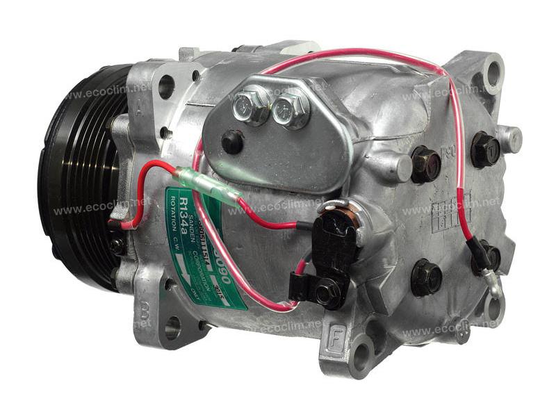 Compressor Sanden Fix R134a TR... TYPE : TRS090