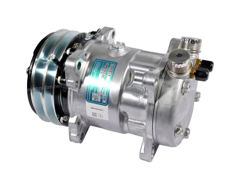 Compressor Sanden Fix R134a SD5H14 TYPE : SD5S14