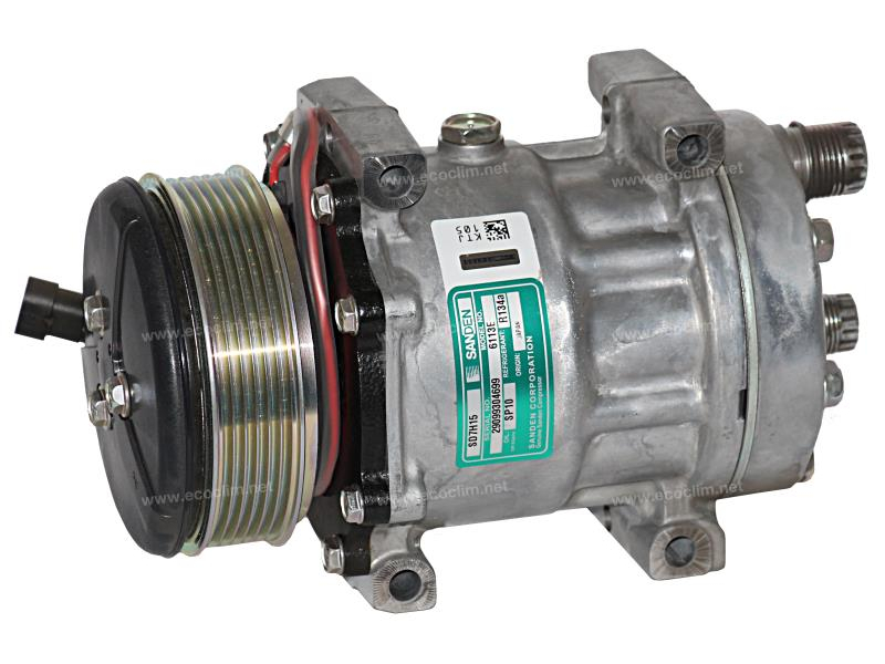Compressor Sanden Fix R134a Sd7h15 200j62 Air
