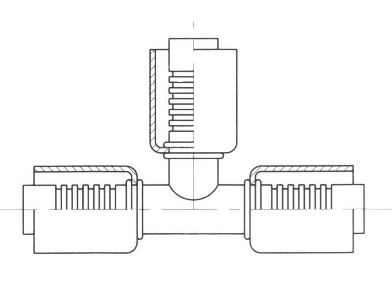 Fitting Steel standard fittings Special TE M6
