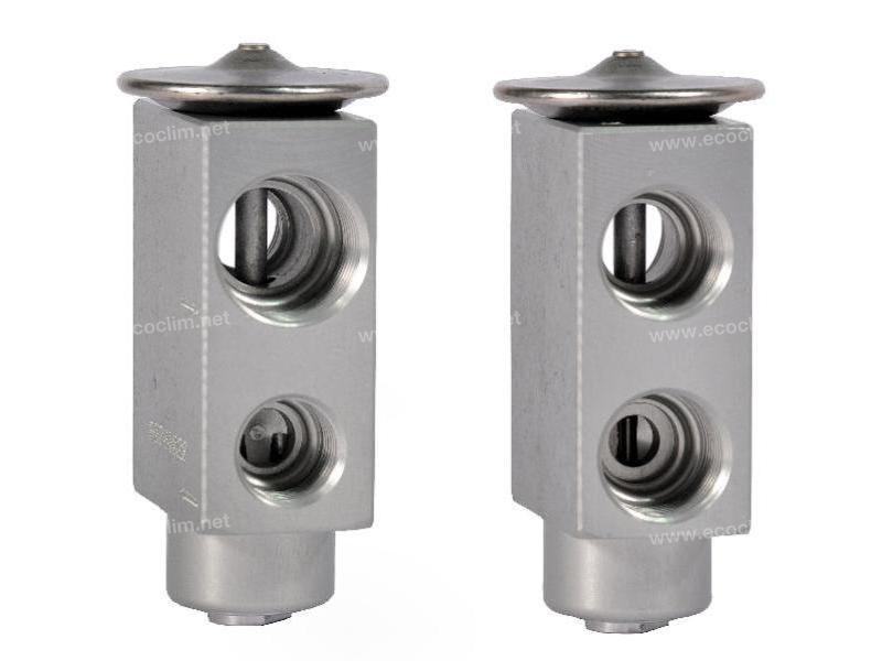 Expansion valve Blok A VISSER
