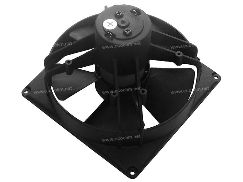 Ventilateur Soufflant 12V SPAL Epaisseur max : E = 98