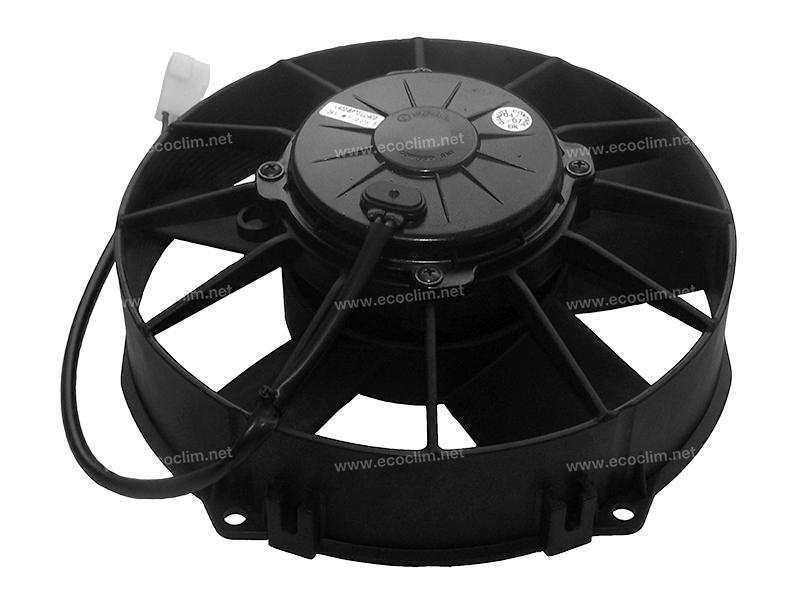 Ventilateur Soufflant 12V SPAL Epaisseur max : E = 95