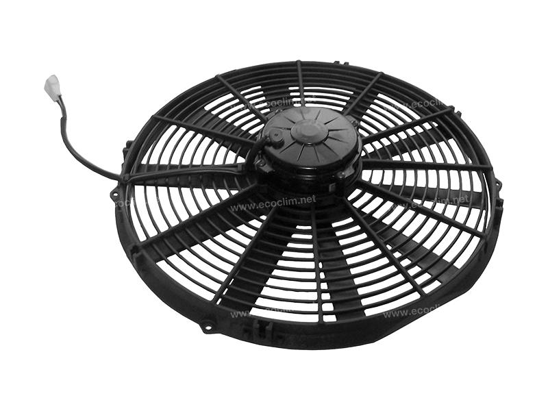 Ventilateur Soufflant 12V SPAL Epaisseur max : E = 86