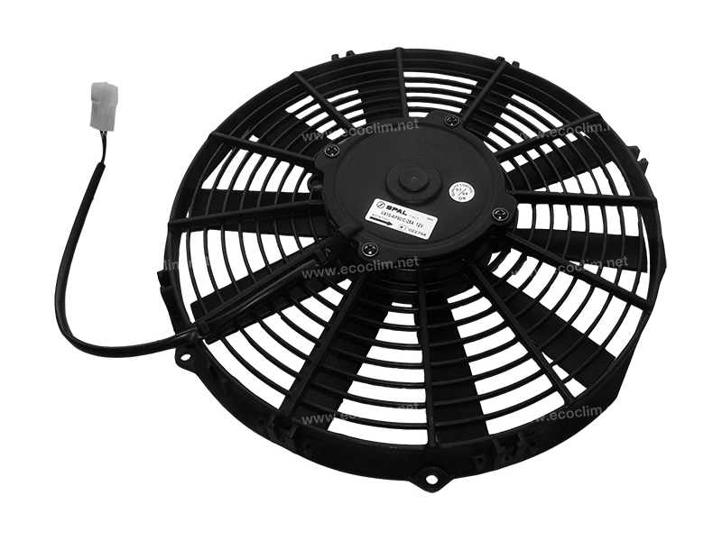 Ventilateur Aspirant 12V SPAL Epaisseur max : E = 63 |  | 30101504