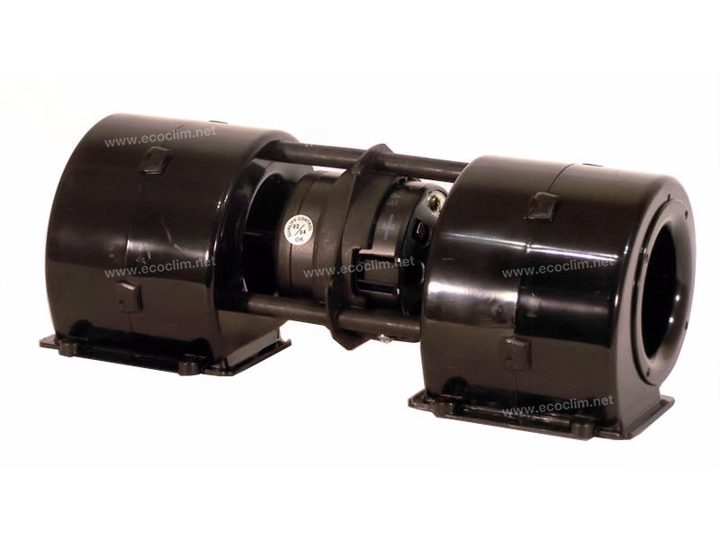Diffusion d'air Soufflerie double turbine 12V SPAL 1 VITESSES