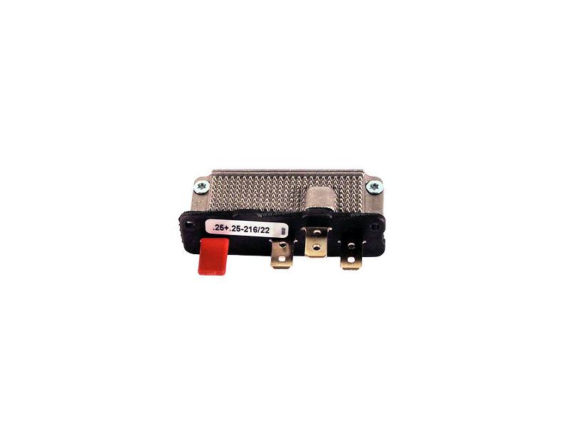 Composant électrique Résistance SPAL RESISTANCE 12V 3VITESSES