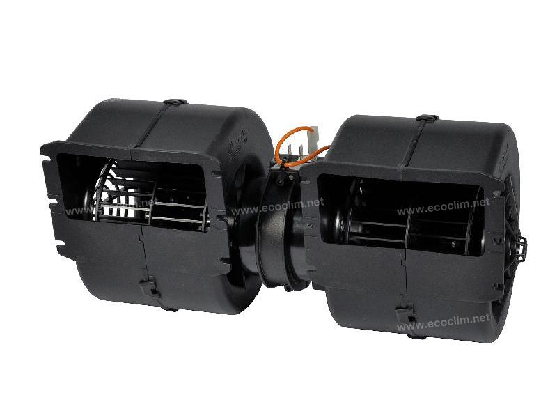 Diffusion d'air Soufflerie double turbine 24V 3 VITESSES