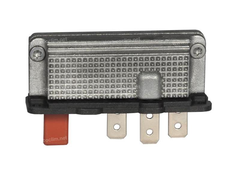 Composant électrique Résistance SPAL RESISTANCE 24V 3VITESSES