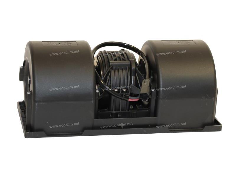 Diffusion d'air Soufflerie double turbine 12V 3 VITESSES