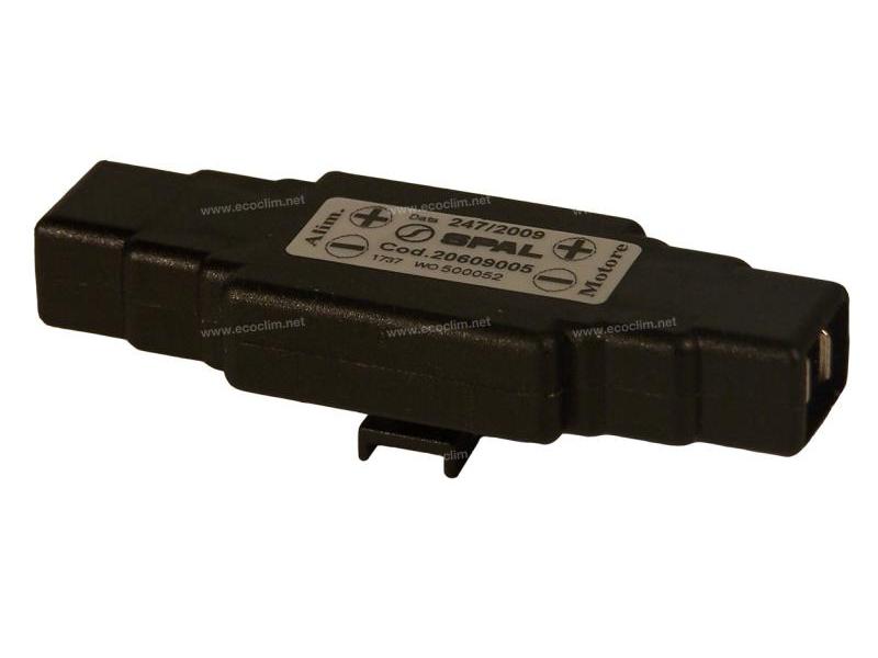 Composant électrique Divers  SPAL FILTRE ANTI PARASITE | 5915-01-576-5535 - 5915015765535 - AT386368 | 20609009 - 220-614