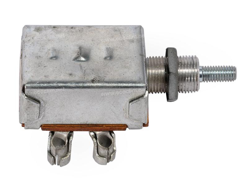 Composant électrique Interrupteur  A POUSSOIR 12V 2 VITESSES