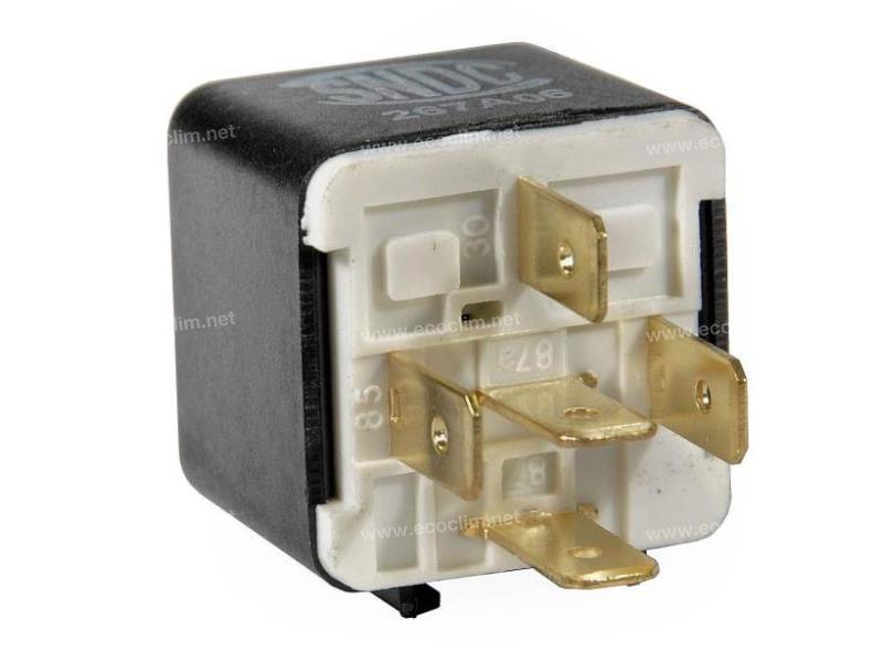 Composant électrique Relais 5 PLOTS 24V SANS PATTE |  | 0332209211