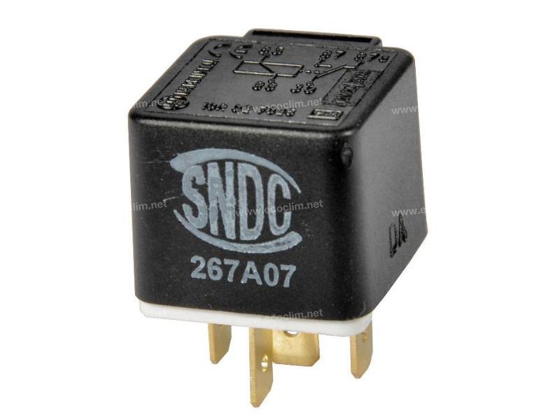Composant électrique Relais 5 PLOTS 12V SANS PATTE
