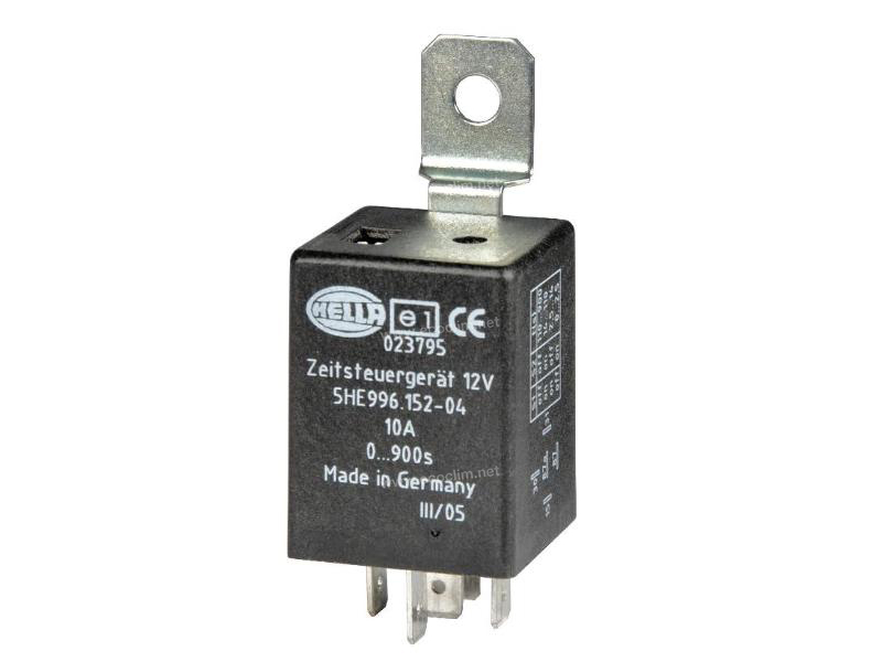 Composant électrique Relais TEMPORISE 12 VOLTS