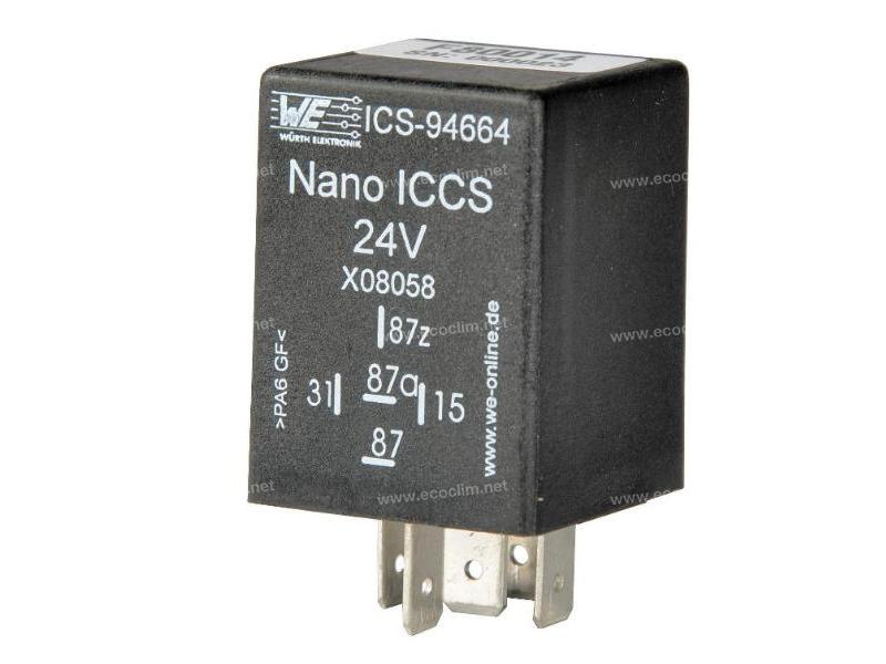 Composant électrique Relais TEMPO 24V PREREG1500 OFF/30ON