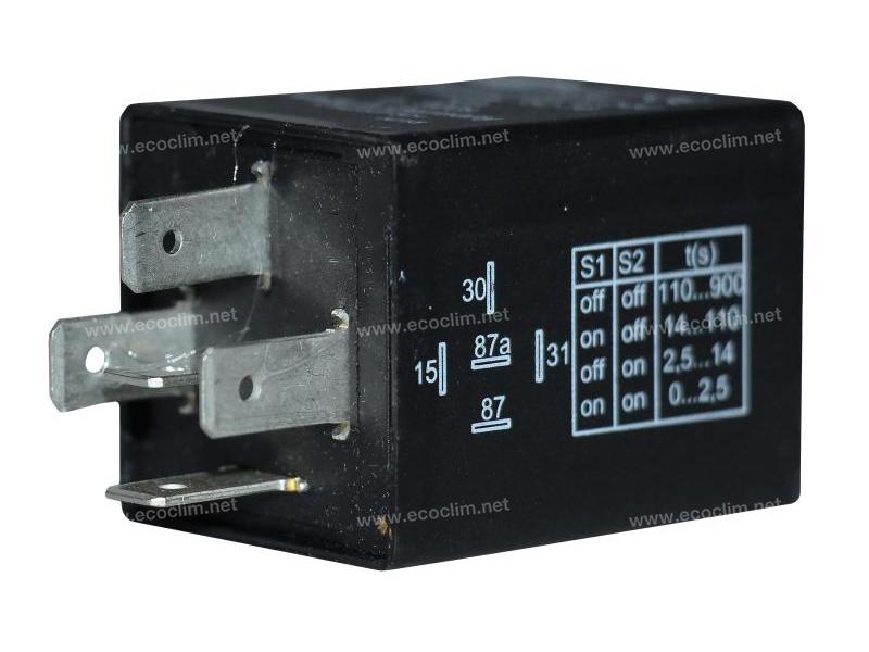 Composant électrique Relais 24V TEMPO DEMARRAGE MOTEUR 380 |  | 5HE996152-161