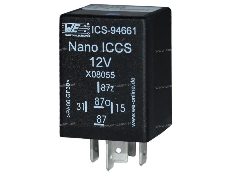 Composant électrique Relais TEMPO 12V PREREG 60 ON/900 OFF