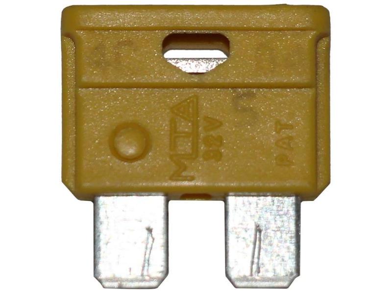 Composant électrique Divers Fusible BROCHE A2 FUSIBLE 20A BROCHE A2 JAUNE