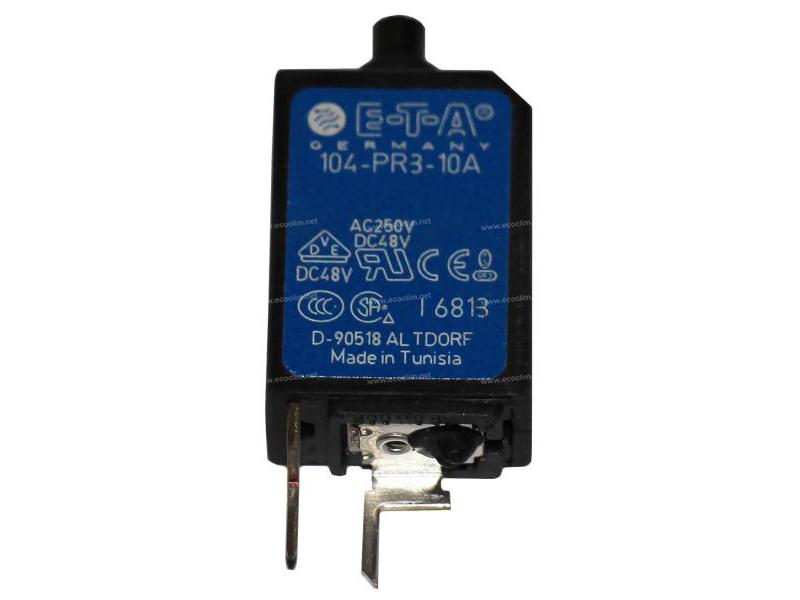 Electric component Circuit cutout DISJONCTEUR REARMABLE 10A