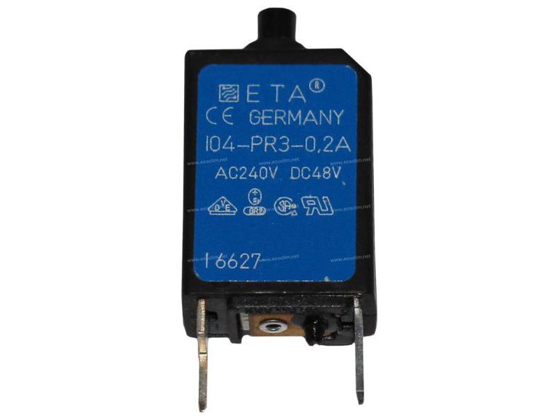 Electric component Circuit cutout DISJONCTEUR REARMABLE 0.2A