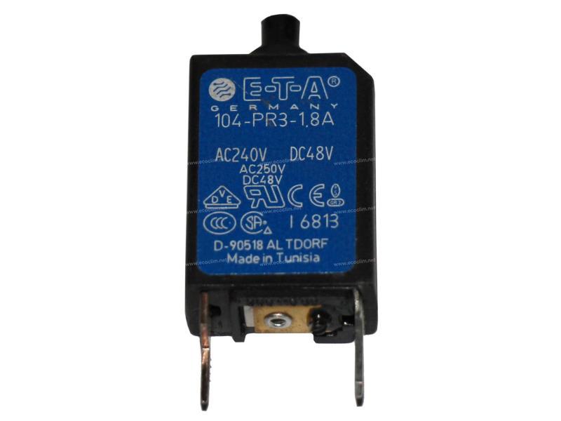 Electric component Circuit cutout DISJONCTEUR REARMABLE 1.8A