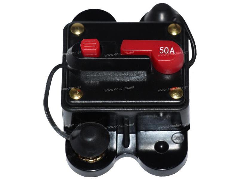 Electric component Circuit cutout DISJONCTEUR REARMABLE 50A-24V