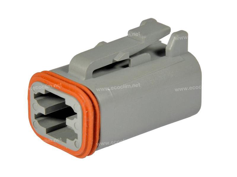 Composant électrique Connecteur DEUTSCH Connecteur FEMELLE 4 VOIES DT DT06-4S