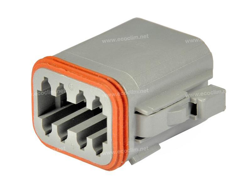 Composant électrique Connecteur DEUTSCH Connecteur FEMELLE 8 VOIES DT DT06-8S