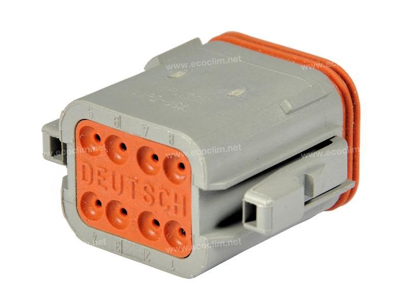Composant électrique Connecteur DEUTSCH Connecteur FEMELLE 8 VOIES |  |